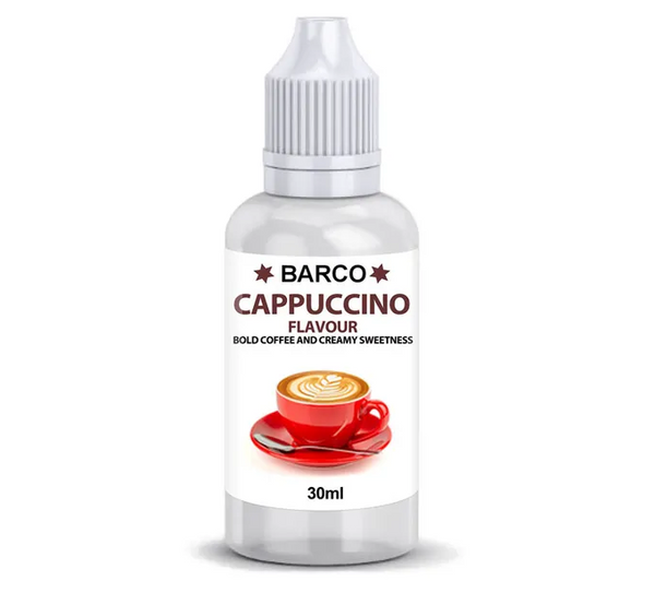 BARCO | FLAVOURS | CAPPUCCINO | 30ML