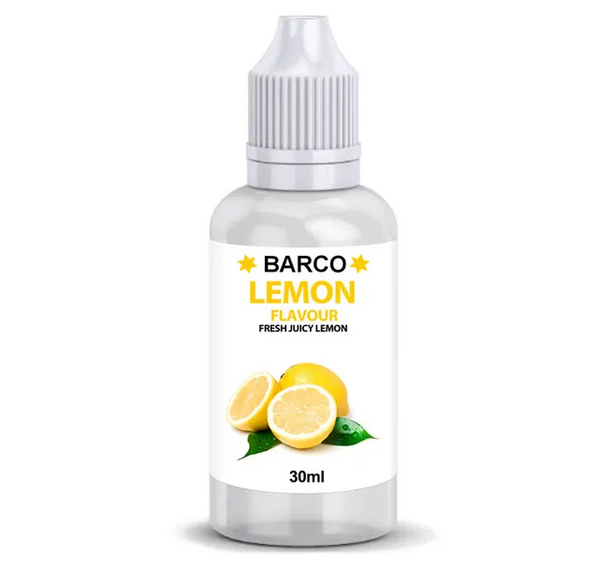 BARCO | FLAVOURS | LEMON | 30ML