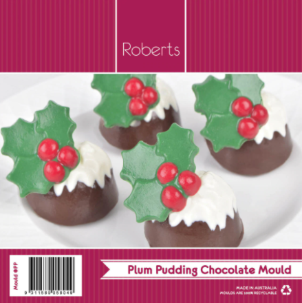 Robert's Confectionary - Plum Pudding Chocolate Mould
