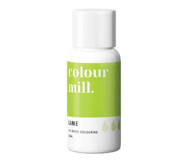 LIME - COLOUR MILL - 20mL - FOOD COLOUR