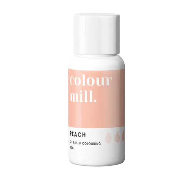PEACH - COLOUR MILL - 20mL - FOOD COLOUR