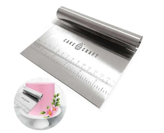 CAKE CRAFT | SCRAPER WITH HANDLE | 150MM