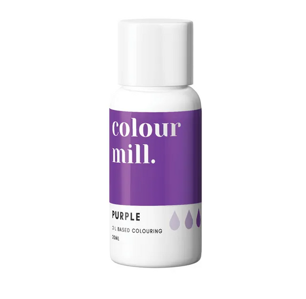 PURPLE - COLOUR MILL - 20mL - FOOD COLOUR