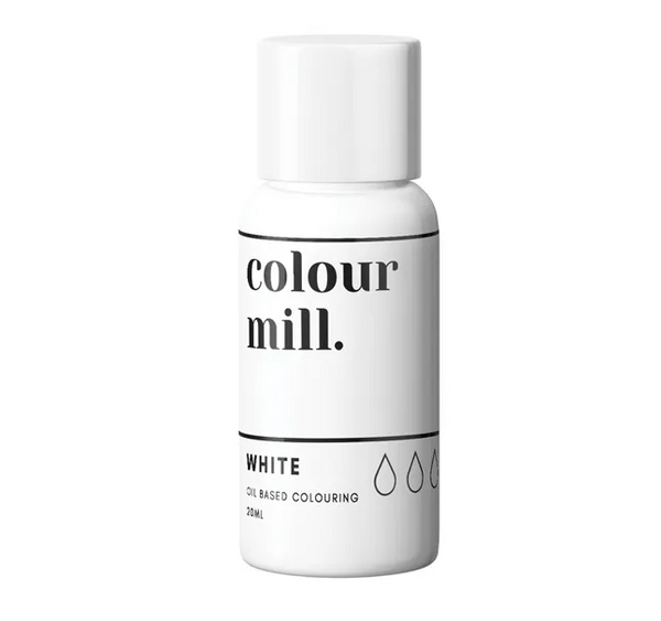 WHITE - COLOUR MILL - 20mL - FOOD COLOUR