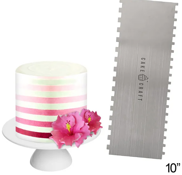 CAKE CRAFT | BUTTERCREAM COMB | THIN STRIPES | 10 INCH