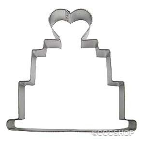 Wedding Cake Cookie Cutter 10cm