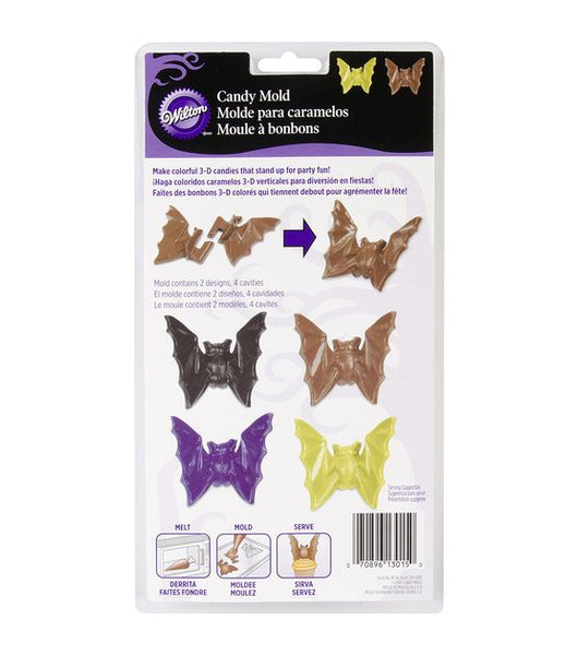 Wilton Candy Mould- 3D Bats