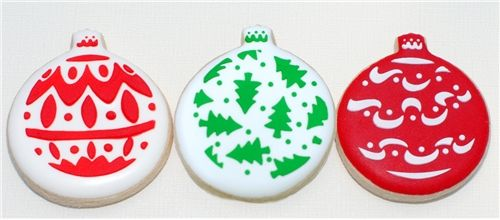 Designer Stencils Mini Christmas Ornaments