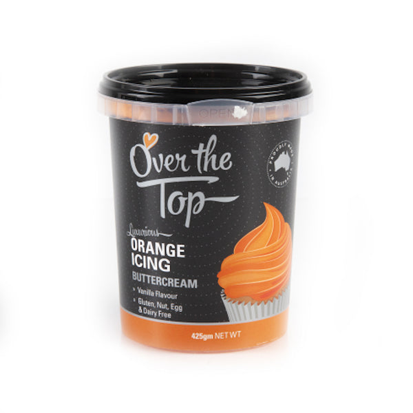 OVER THE TOP BUTTERCREAM - ORANGE - 425G