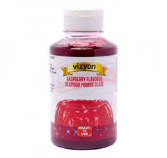 RASPBERRY GLAMOUR MIRROR GLAZE - VIZYON - READY TO USE - 500g