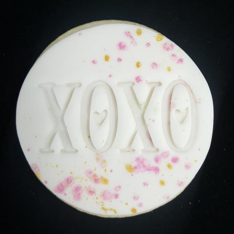 Custom Cookie Cutters - Xoxo Embosser