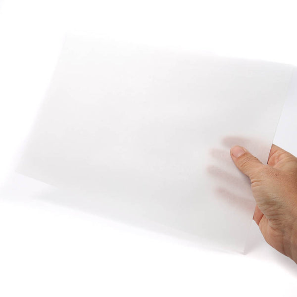 WHITE RECTANGLE WAFER PAPER (THIN) - A4 SIZE (PACK OF 10)