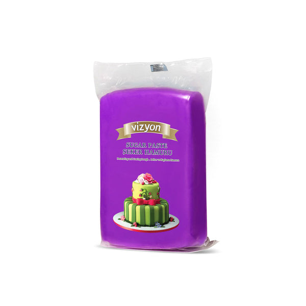 DARK MAGENTA VIZYON SUGAR PASTE - 250g