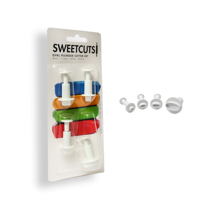 OVAL PLUNGER CUTTERS - SWEETCUTS