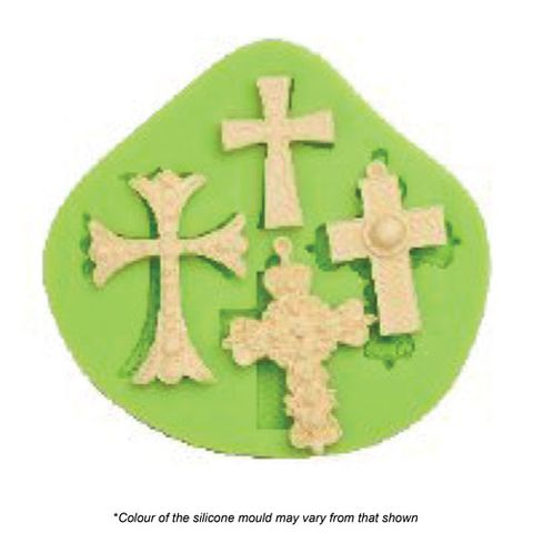 MULTIPLE CROSSES SILICONE MOULD