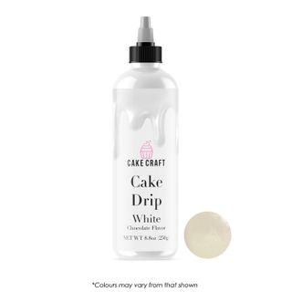 CAKE CRAFT | CAKE DRIP | WHITE | 250G