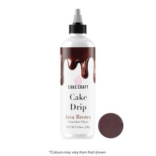 CAKE CRAFT | CAKE DRIP | JAVA BROWN | 250G