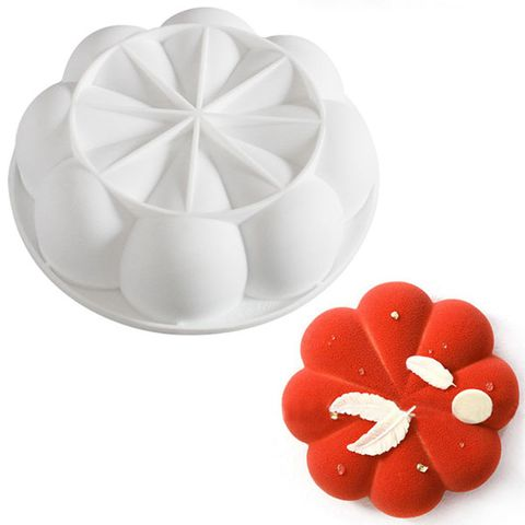 LARGE 3D BLOSSOM FLOWER SILICONE MOULD