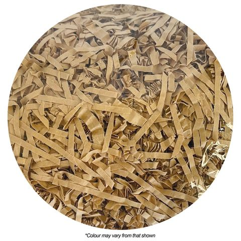 SHREDDED PAPER | LIGHT BROWN | 100G