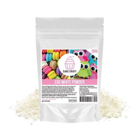 CAKE CRAFT | EGG WHITE POWDER | 200G