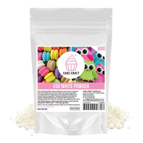 CAKE CRAFT | EGG WHITE POWDER | 500G