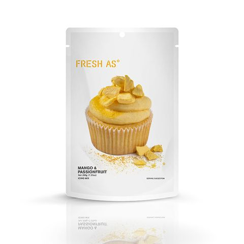 FRESH AS | ICING MIX | MANGO & PASSIONFRUIT | 200G