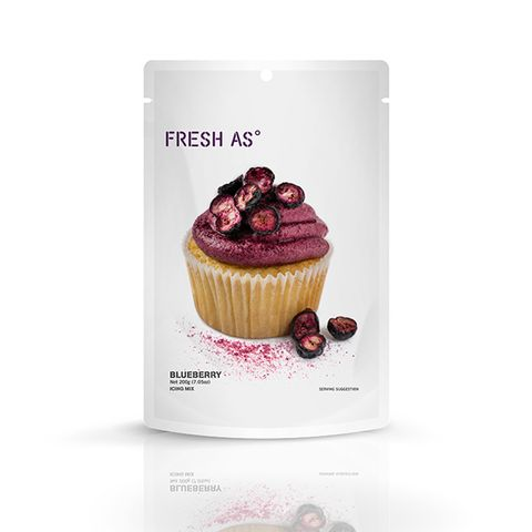 FRESH AS | ICING MIX | BLUEBERRY | 200G