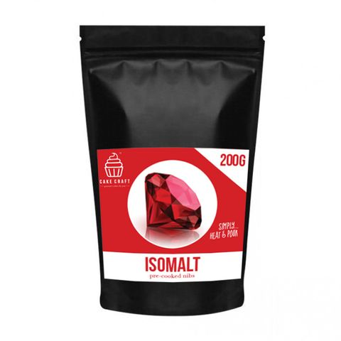 CAKE CRAFT | ISOMALT NIBS | RED | 200G