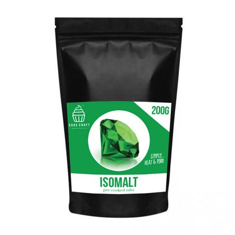 CAKE CRAFT | ISOMALT NIBS | GREEN | 200G