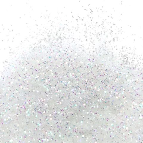 BARCO | FLITTER GLITTER | MULTI COLOUR (WHITE) | NON TOXIC | 10ML