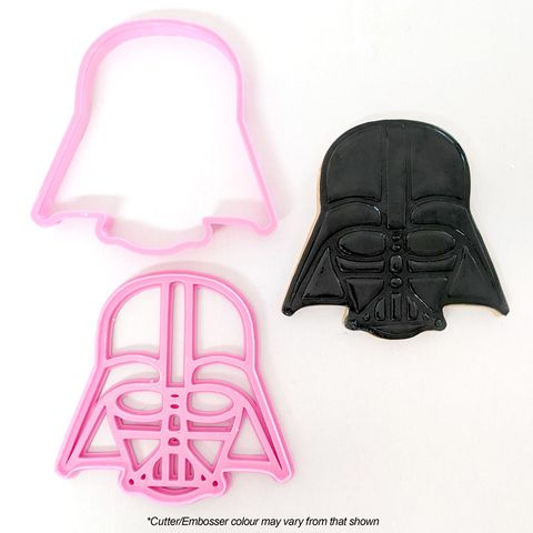 DARTH VADER HELMET | COOKIE CUTTER & EMBOSSER
