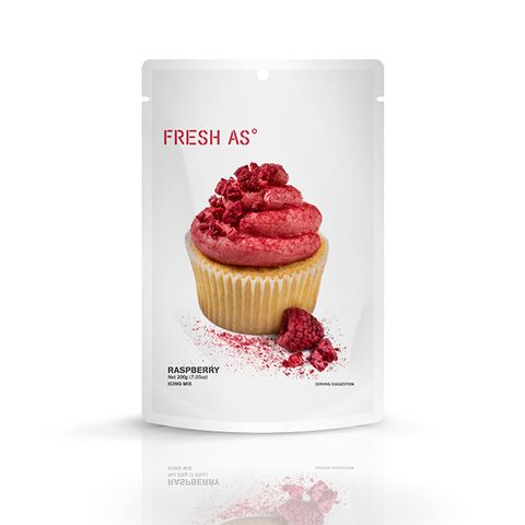 FRESH AS | ICING MIX | RASPBERRY | 200G