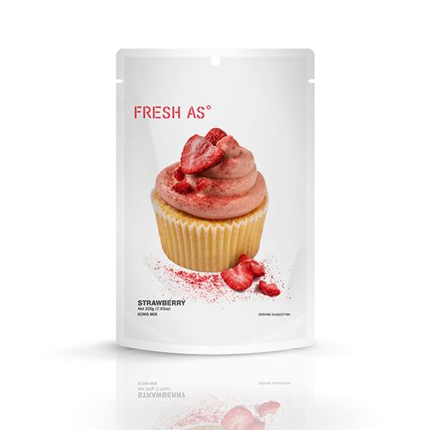 FRESH AS | ICING MIX | STRAWBERRY | 200G