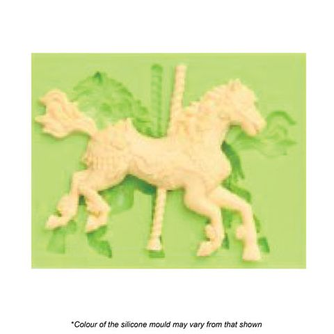 MERRY GO ROUND PONY SILICONE MOULD