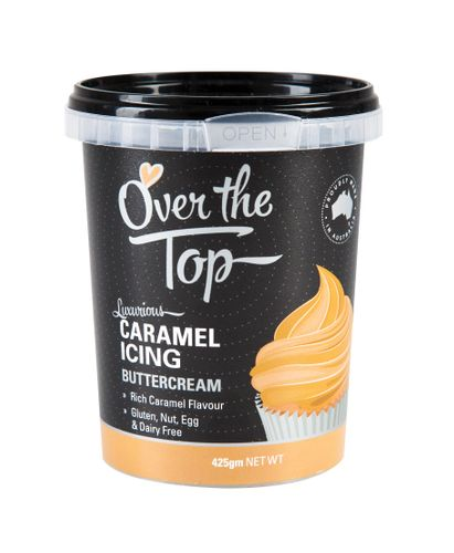 Over The Top Buttercream 425g - Caramel