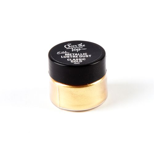 Over The Top Classic Gold Lustre Dust - 10mL