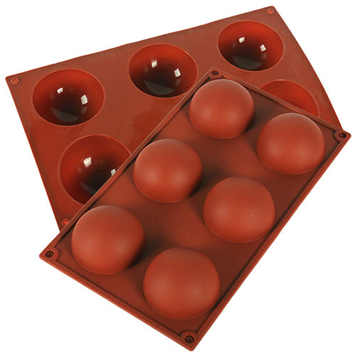 HALF SPHERE SILICONE BAKING MOULD - 70MM
