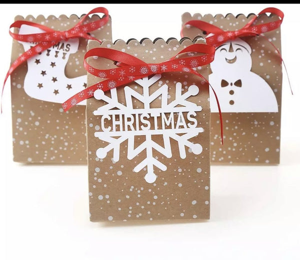 Christmas cookie cake biscuit box x 1pcs