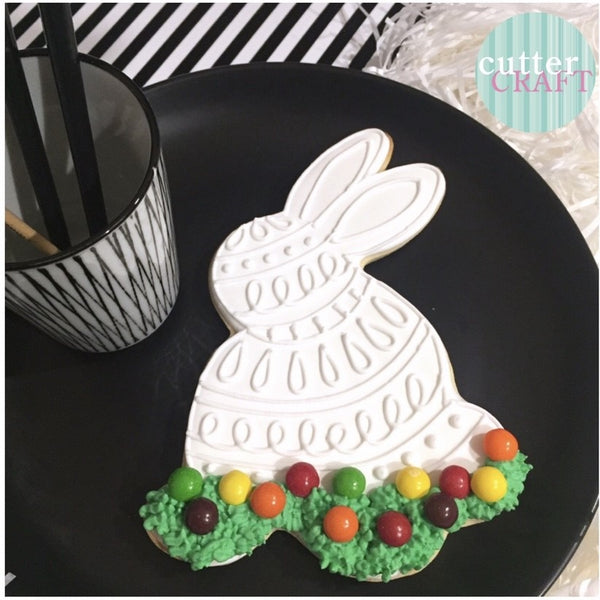 Cutter Craft - COOKIE CUTTER 16CM LARGE SIDE VIEW EASTER RABBIT