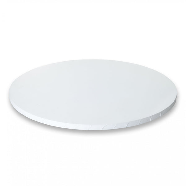 DRUM CAKE BOARD | WHITE | 12 INCH | ROUND | MDF | 12MM THICK