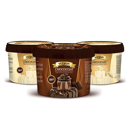 VIZYON DARK CHOCOLATE MODELLING PASTE - 1KG
