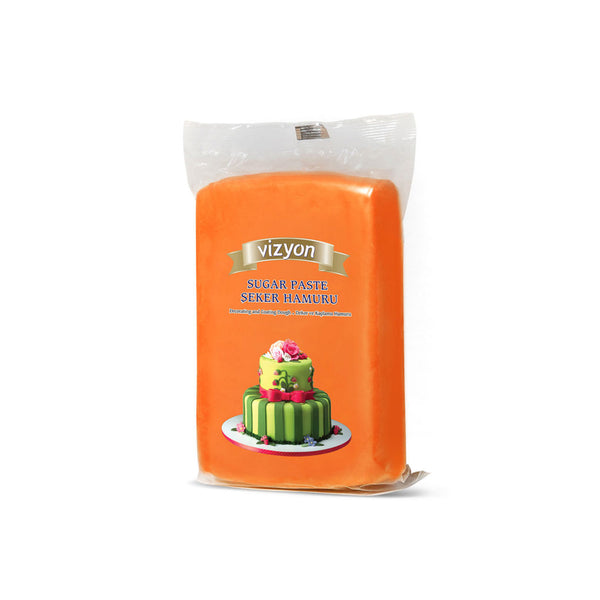 ORANGE VIZYON SUGAR PASTE - 250g