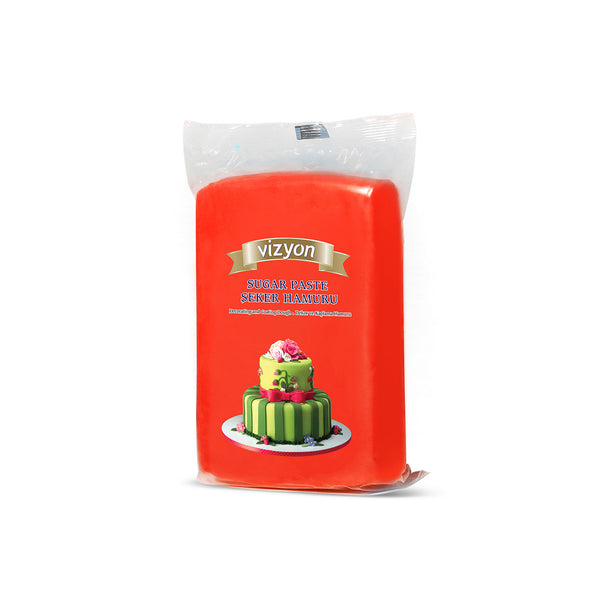 RED VIZYON SUGAR PASTE - 250g