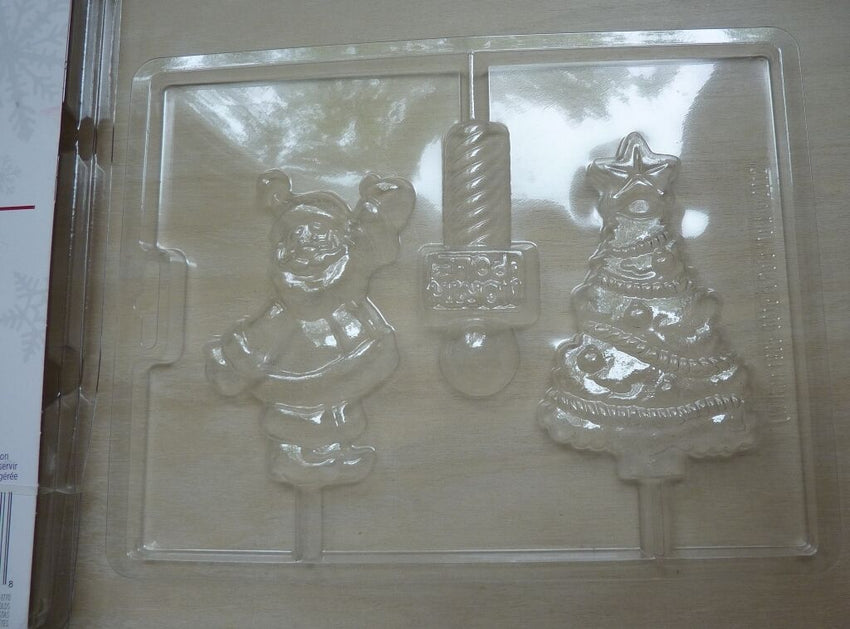 Wilton North Pole Chocolate/Lollipop  Mould