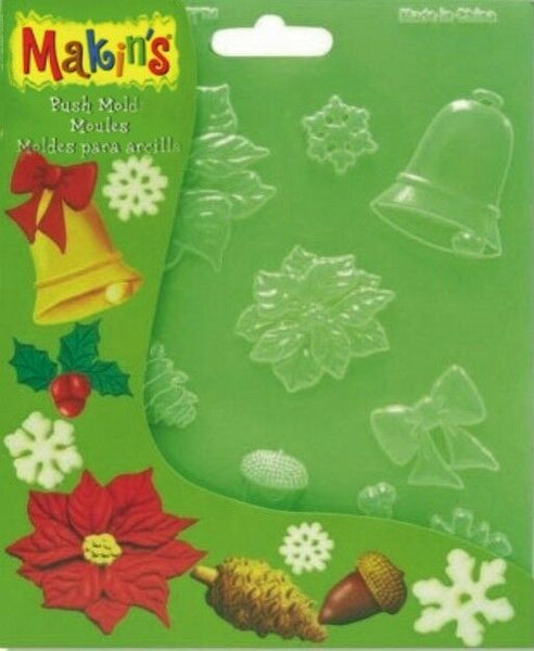 Makins Push Moulds Christmas