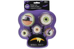 Wilton Baking Cups - Mini & Standard 'Eyeball' Baking Cups