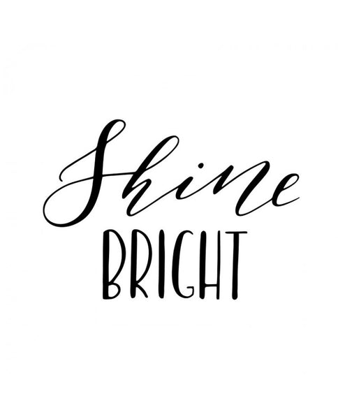 Silho Stencil Shine Bright