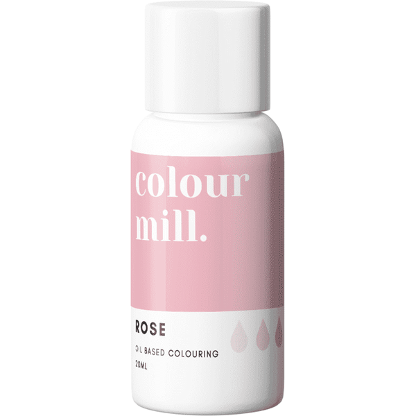ROSE - COLOUR MILL - 20ML - FOOD COLOUR