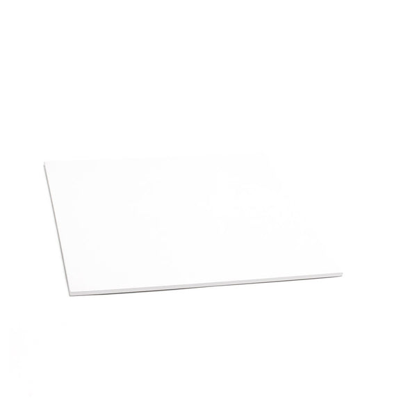 CAKE BOARD | WHITE | 8 INCH | SQUARE | MDF | 5MM THICK