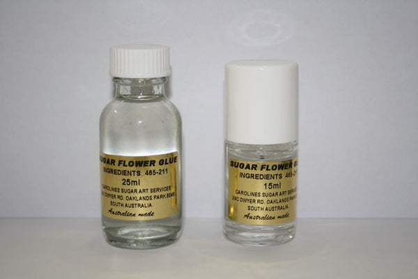 Caroline's Sugar Flower Glue With Brush - 15mL